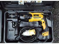 DeWalt SDS rotary hammer breaker drill 110volt