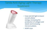 RED LIGHT THERAPY ANTI-AGEING TANDA LUXE DEVICE!