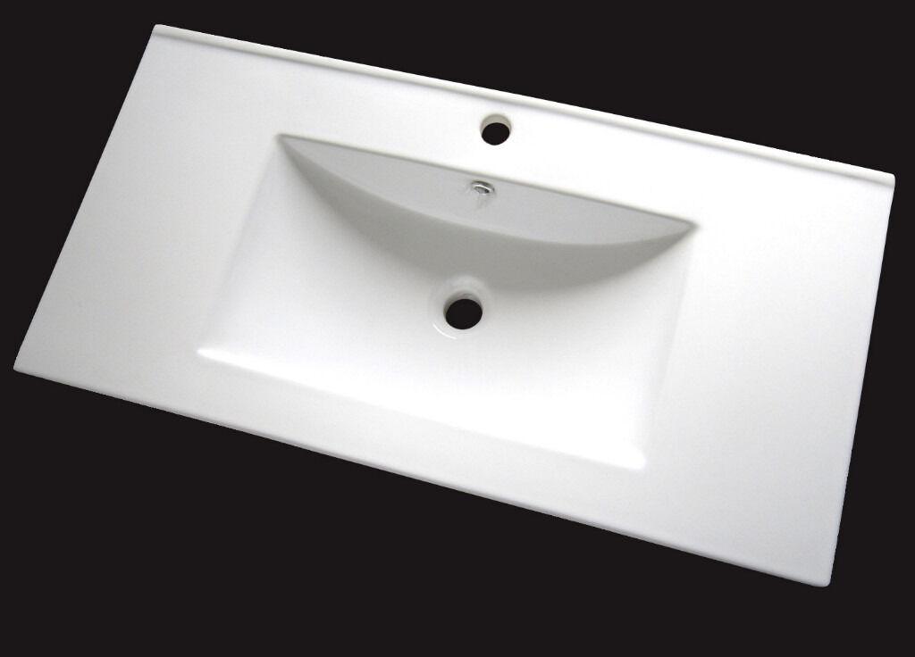 Bathroom Sinks Gumtree basin bathroom sink for vanity unit ceramic 900mm new! | in