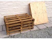 Varnished Pallets for sale