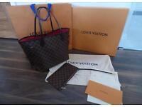Louis Vuitton neverfull NM bag