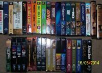 Rare VHS Collection  mostly new never played