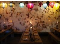 Assistant Manager needed for busy Dumpling House in Hackney