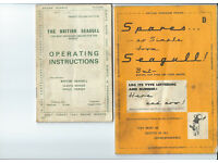 British Seagull booklets