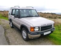 Discovery 2 GS, 7 seater, Manual, New MOT. Lots of history. Only 2 previous owners