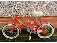 Raleigh Splash Young Girl's Bike with Stabilisers