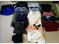 Maternity clothes bundle 19 items (size 12-14)
