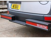 Safe-T-Bar recessed to fit a Mercedes sprinter
