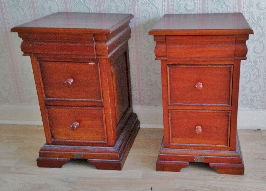 wholesale dealer 27d94 f5471 Pair of Ancient Mariner Mahogany Bedside Cabinets – three drawers | in  Blackpool, Lancashire | Gumtree