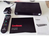 Goodmans Freesat HD Box