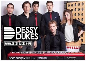 We are Dessy Dukes Band, a professional wedding and function outfit, without the agency fee.
