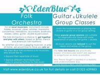 Eden Blue Folk Orchestra Class in Old Town Eastbourne