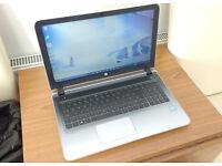 HP Laptop Core i5-6200u, 12GB Ram, 2TB Hard Drive, Wireless, Webcam, Office, USB3, Bang and Olufsen