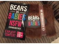Kickstarter edition Bears vs Babies