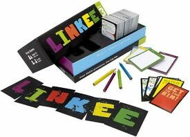Linkee 3rd Edition Link Guessing Card game from Ideal. 2 or more players - Brand New Sealed