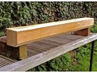 English oak beams
