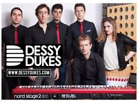 Dessy Dukes function band would like a sax player for private gig: £150 plus travel expenses.