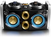 FWP3200D Dual iPod iPhone Docking DJ Mixer Party Machine **REDUCED**