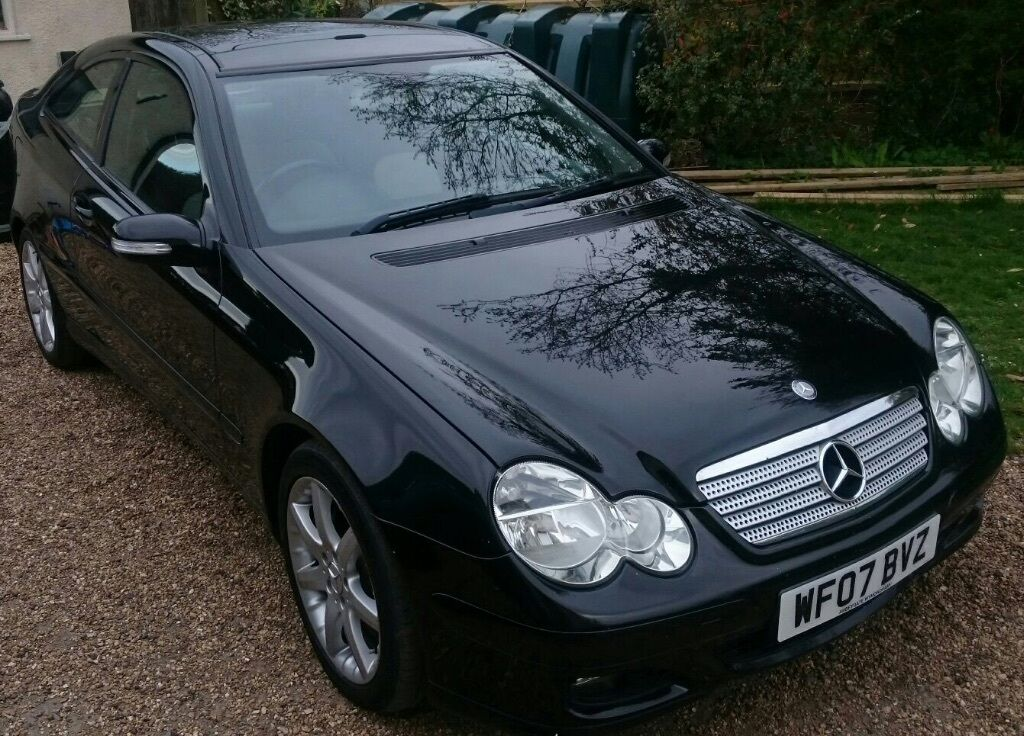 mercedes benz c class sports coupe c200 cdi se 2007 in newmarket suffolk gumtree. Black Bedroom Furniture Sets. Home Design Ideas