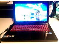 LENOVO Y500 LAPTOP - Intel core i7 CPU - 16GB RAM - 250GB SSD plus 1TB HDD - DVD