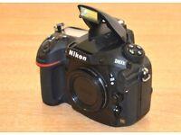 NIKON DSLR D800E FX 4K CAMERA . not d800 or d810