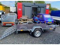 BRAND NEW MODEL 8.2x4.3 GOLF BUGGY/QUAD TRANSPORTER 750KG