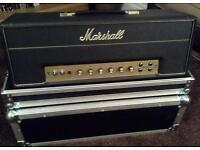 MARSHALL JTM45 WITH NEW FLIGHT CASE MINT CONDITION, CLAPTON, PAGE, HENDRIX