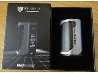 Wismec Reuleaux RXGEN3 Vaping Mod c/w Batteries (Boxed)
