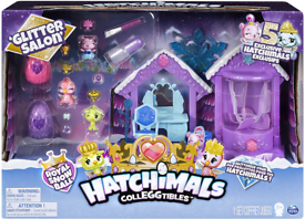 Hatchimals Colleggtibles Glitter Salon Fun toy for kids 5 exclusives