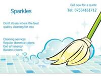 Sparkles domestic cleaners