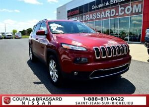 2014 Jeep Cherokee LIMITED*AWD*CUIR*PNEUS HIVER*GPS