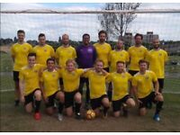 WINGER NEEDED FOR 11 SIDE FOOTBALL TEAM, FIND FOOTBALL IN LONDON. ref:292h