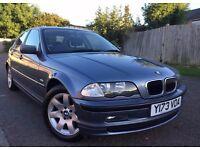 BMW 3 Series 2.2 320i SE 4dr 2001, Saloon Automatic 2171cc Petrol Full Servise History+Long MOT
