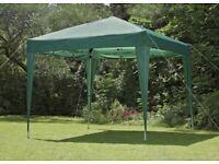 Pop Up Garden Gazebo - Green 2.4m x 2.4m