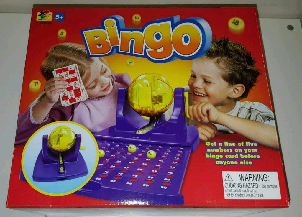 Bingo game.