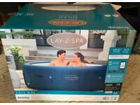 Lay-Z-Spa Milan 6 Person Smart Hot Tub - Brand New In Box - Local Delivery