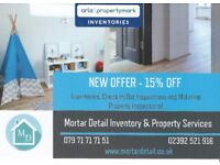 15% OFF - Inventory Services - Hampshire