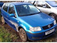 Volkswagen, POLO, Hatchback, 2001, Other, 1390 (cc), 5 doors