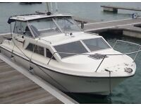 Princess 25 Cabin Cruiser, Twin Diesel