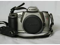 Canon EOS 3000N with strap and body cap