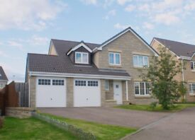 5 Bedroom detached house to rent in Inverurie, Aberdeenshire