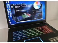 1b23effa2290 Medion Erazer X7849 Gaming Laptop - I7 - 16GB - GTX1070 - SSD & HDD
