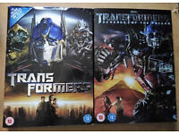 DVDs: Transformers | Transformers: Revenge of the Fallen