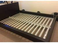 Ikea mlam double bed with mattress