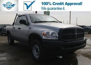 2008 Dodge Ram 1500 ST 4x4!! Low Monthly Paymnets!! Apply Now!!