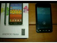 Note style android smartphone
