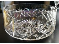 ROYAL SCOT CRYSTAL - Edinburgh Crystal Bowl - No Damage etc