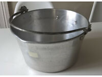 Aluminium jam kettle/pan