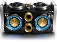 Philips FWP3200D 300W Dual DJ-Dock Sound System