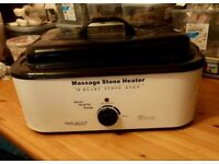 HOT STONES MACHINE WITH STONES AND WAX POT DEO